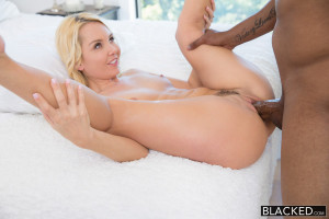 Aaliyah Love sex with a black man